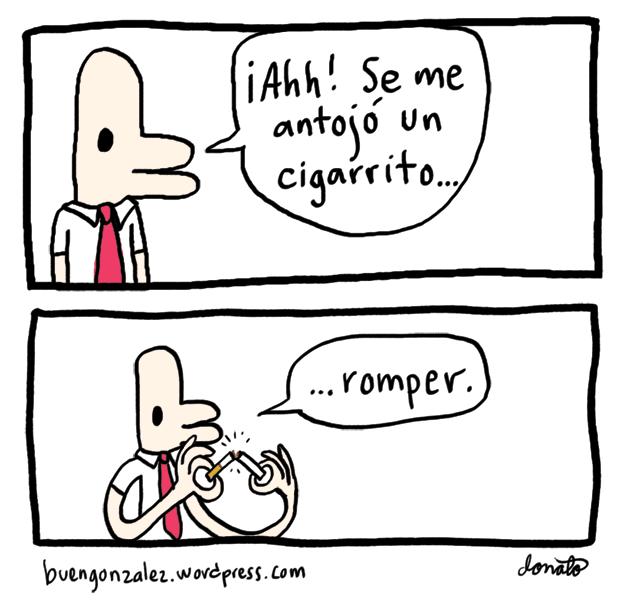 González rompiéndolo