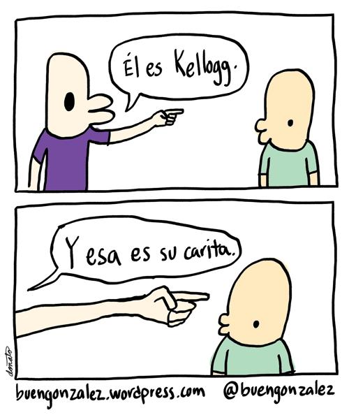 La carita de Kellogg